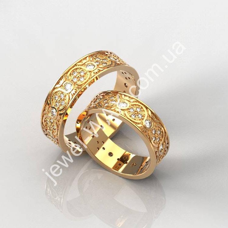 Обручальные кольца. «Восковки»